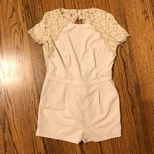 BCBG lace jumpsuit